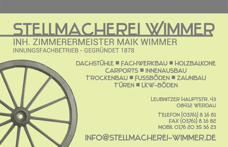 Stellmacherei Wimmer